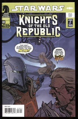 Picture of STAR WARS KNIGHTS OF THE OLD REPUBLIC #18 NM-
