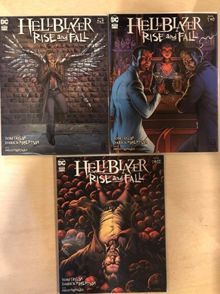 Picture of HELLBLAZER RISE AND FALL #1 2 3 / COVER A SET / DC BLACK LABEL TOM TAYLOR