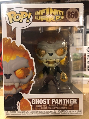 Picture of FUNKO POP INFINITY WARPS GHOST PANTHER #860 BOBBLE-HEAD