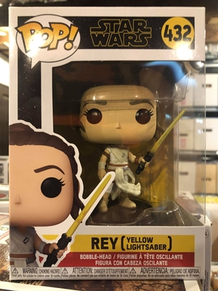 Picture of FUNKO POP STAR WARS REY WITH LIGHTSABER #432 BOBBLE-HEAD