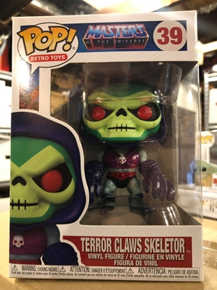 Picture of FUNKO POP RETRO TOYS MASTERS OF THE UNIVERSE TERROR CLAWS SKELETOR #39