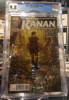 Picture of KANAN (2015) #5 / 1ST PRINT / CGC 9.8 NM/MT MARK BROOKS COVER