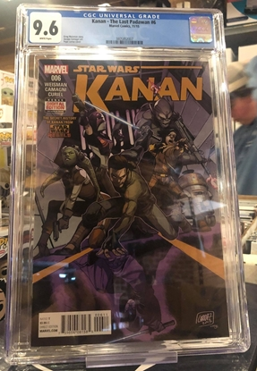 Picture of KANAN (2015) #6 / 1ST APPEARANCE OF SABINE / 1ST PRINT CGC 9.6 NM+
