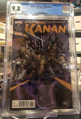 Picture of KANAN (2015) #6 / 1ST APPEARANCE OF SABINE / 1ST PRINT CGC 9.8 NM/MT