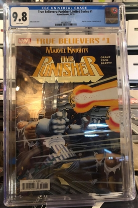 Picture of TRUE BELIEVERS PUNISHER LIMITED SERIES #1 CGC 9.8 NM/MT