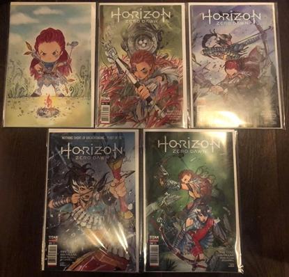 Picture of HORIZON ZERO DAWN #1 2 3 4 MOMOKO PACK