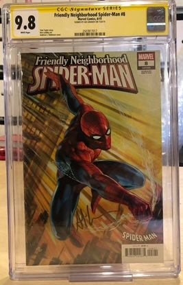 Picture of FRIENDLY NEIGHBORHOOD SPIDER-MAN #8 / CGC ADI GRANOV SIGNATURE 9.8