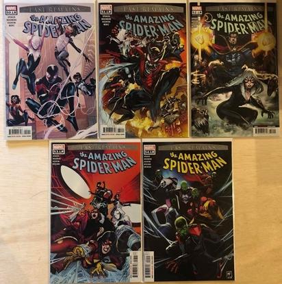 "Picture of AMAZING SPIDER-MAN #50.LR - #54.LR ""LAST REMAINS"" 1ST PRINT SET"