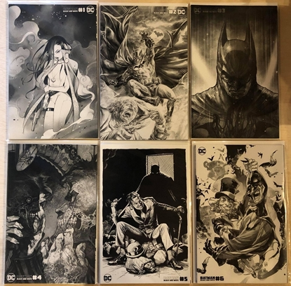 Picture of BATMAN BLACK AND WHITE #1 2 3 4 5 6 / COVER C VARIANT SET MOMOKO