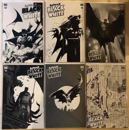Picture of BATMAN BLACK AND WHITE #1 2 3 4 5 6 / 1ST PRINT COVER A SET CAPULLO NM