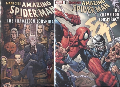 Picture of GIANT-SIZE AMAZING SPIDER-MAN CHAMELEON CONSPIRACY #1 / 1ST PRINT + VARIANT SET