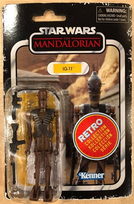 """Picture of STAR WARS RETRO 3-3/4"""" ACTION FIGURE IG-11"""