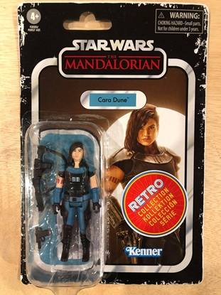 """Picture of STAR WARS RETRO 3-3/4"""" ACTION FIGURE CARA DUNE"""