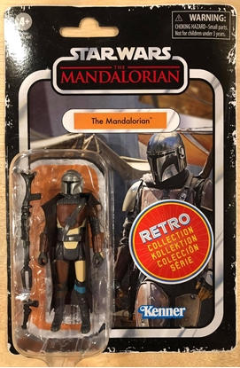 """Picture of STAR WARS RETRO 3-3/4"""" ACTION FIGURE THE MANDALORIAN"""