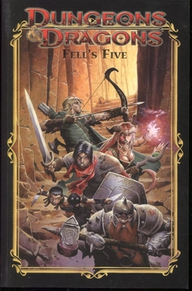 Picture of DUNGEONS & DRAGONS FELLS FIVE TP (C: 0-1-1)