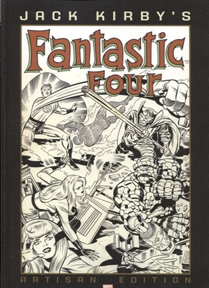 Picture of JACK KIRBY FANTASTIC FOUR ARTISAN EDITION TP