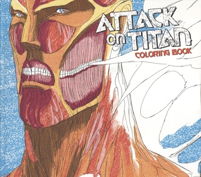Picture of ATTACK ON TITAN ADULT COLORING BOOK