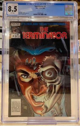 Picture of THE TERMINATOR (1988) #1 NOW COMICS / CGC 8.5 VF+