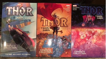 Picture of THOR BY JASON AARON COMPLETE COLLECTION TPB VOLUME 1 2 3 SET