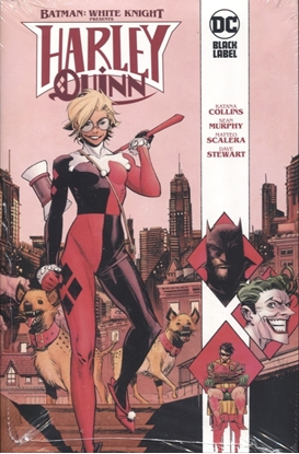 Picture of BATMAN WHITE KNIGHT PRESENTS HARLEY QUINN HC (MR)