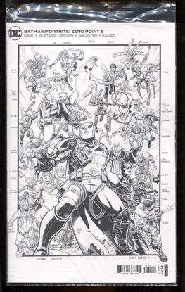 Picture of BATMAN FORTNITE #6 / 1:150 VARIANT COVER / SEALED NM
