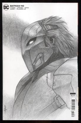 Picture of BATMAN #110 INC 1:25 RICCARDO FEDERICI CARD STOCK VAR