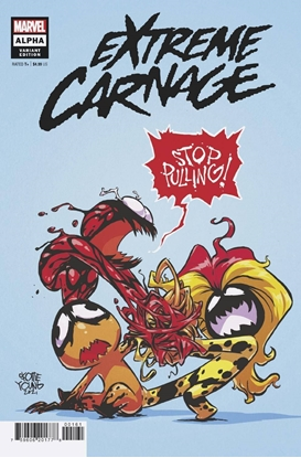 Picture of EXTREME CARNAGE ALPHA #1 YOUNG VARIANT