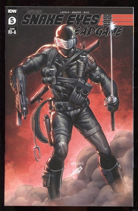 Picture of SNAKE EYES DEADGAME #5 / 1:10 LIEFELD VARIANT COVER NM-