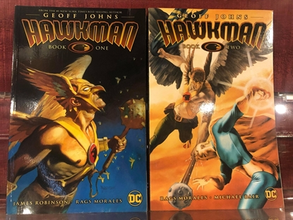 Picture of HAWKMAN BY GEOFF JOHNS BOOK 1 & 2 / REPS #1 THRU 25