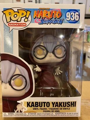 Picture of FUNKO POP ANIME SHONEN JUMP NARUTO SHIPPUDEN KABUTO YAKUSHI #936 NEW