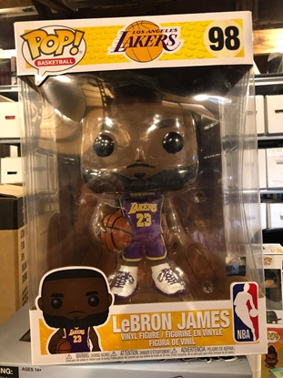 Picture of FUNKO POP BASKETBALL LOS ANGELES LAKERS LEBRON JAMES NBA #98 NEW FIGURE
