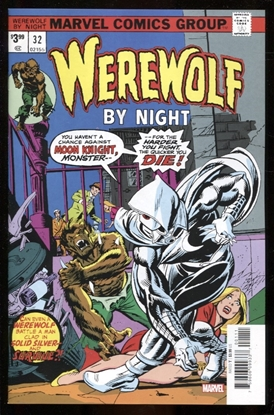 Picture of WEREWOLF BY NIGHT #32 FACSIMILE EDITION