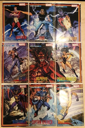 Picture of HEROES REBORN #1 2 3 4 5 6 7 + RETURN #1 / 9-COVER TRADING CARD VARIANT SET NM