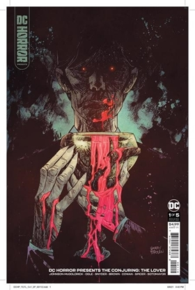 Picture of DC HORROR PRESENTS THE CONJURING THE LOVER #1 (OF 5) CVR A BILL SIENKIEWICZ 2ND PRINT