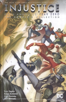 Picture of INJUSTICE YEAR ZERO HC THE COMPLETE COLLECTION