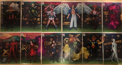 Picture of 12 ISSUE X-MEN GALA VARIANT COVER SET NM / X-FACTOR 10 X-MEN 21