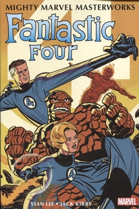 Picture of MIGHTY MMW FANTASTIC FOUR GN TP VOL 01 GREATEST HEROES