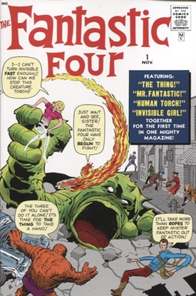 Picture of MIGHTY MMW FANTASTIC FOUR GN TP VOL 01 GREATEST HEROES DM VA