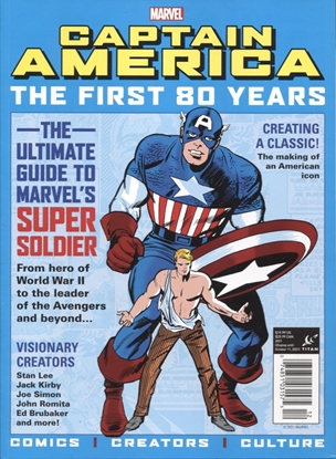 Picture of CAPTAIN AMERICA FIRST 80 YEARS SC NEWSSTAND (C: 0-1-0)
