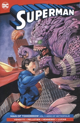 Picture of SUPERMAN MAN OF TOMORROW TP VOL 01 HERO OF METROPOLIS