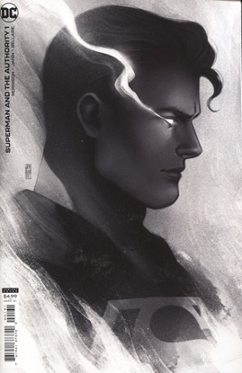 Picture of SUPERMAN AND THE AUTHORITY #1 (OF 4) INC 1:25 JEN BARTEL HEADSHOT VAR