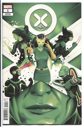 Picture of X-MEN #1 / 1:25 DOALY VARIANT