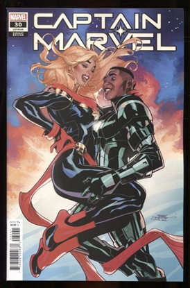 Picture of CAPTAIN MARVEL #30 1:25 DODSON VARIANT COVER