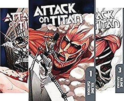 Picture of ATTACK ON TITAN SEASON ONE BOX SET PART 1 (MR)