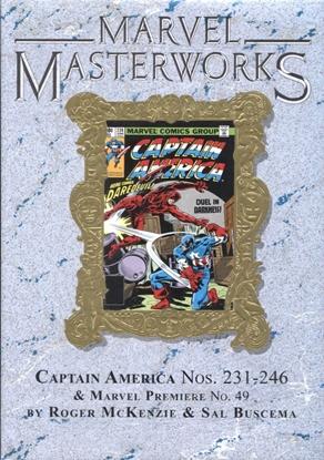 Picture of MARVEL MASTERWORKS CAPTAIN AMERICA HC VOL 13 DM VAR ED 309