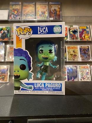 Picture of FUNKO POP DISNEY LUCA PAGURO #1055 NEW VINYL FIGURE