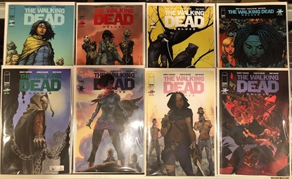 Picture of WALKING DEAD DELUXE #19 / COVER A B C D E F G H / 8 COMIC SET NM