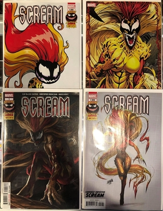 Picture of EXTREME CARNAGE SCREAM #1 / 1ST PRINT + YOUNG + 1:10 + CONNECTING