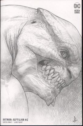 Picture of BATMAN REPTILIAN #2 (OF 6) INC 1:25 RICCARDO FEDERICI VAR (MR)