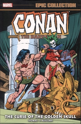 Picture of CONAN ORIG MARVEL YRS EPIC COLL TP CURSE GOLDEN SKULL